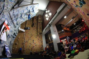 Me nearing the top of the mens final. Photo Credit - Dom Scott
