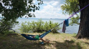 Chilling at Lac Bolsenna