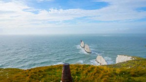 The Needles on the day of the comp