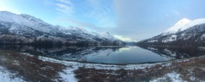 Another breathtaking Scottish view on the way to work.