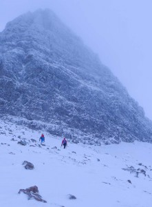 The Giants Wall in all its winter glory