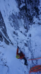 Nick seconding the top of pitch one of DOTD