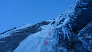Nick higher on the WI6 pitch