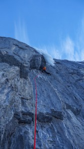 Nick making progress on the first pitch of NOWS.
