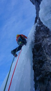 Nick moving up the pillar on NOWS
