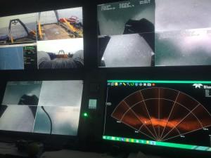 The UTROV control room
